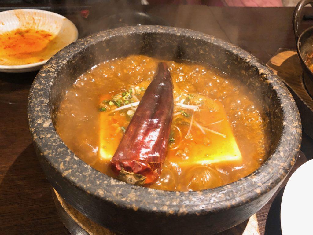 地獄の鬼辛麻婆豆腐の画像