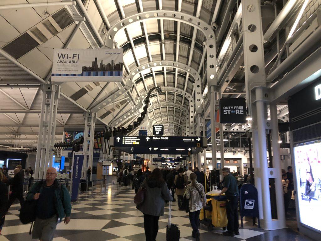 シカゴ・オヘア空港ターミナル1の画像