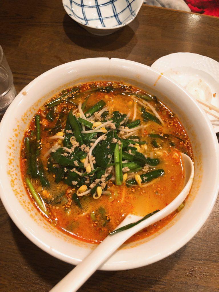 「担々麺」の画像