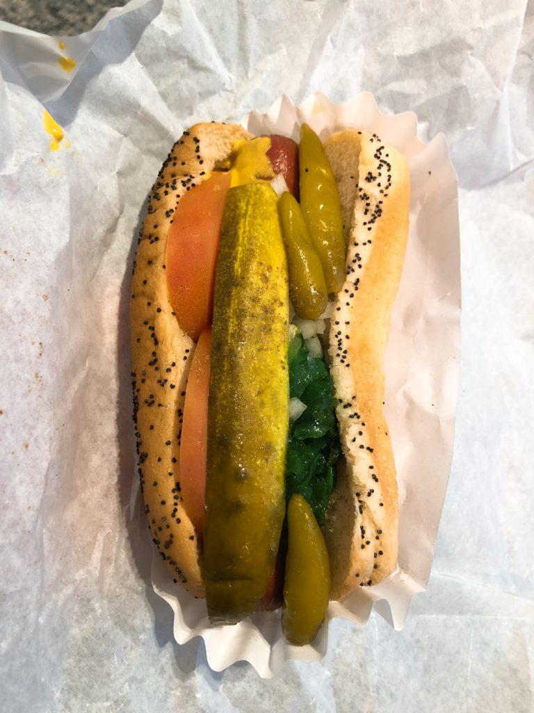 「Max's」のシカゴホットドッグの画像