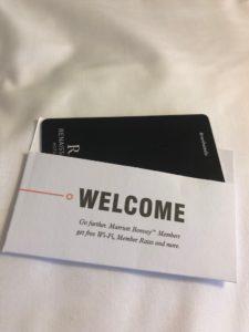 ホテルのルームキーの画像